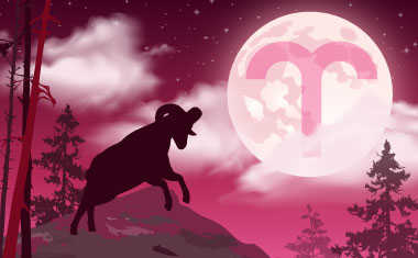 The Moon in Aries