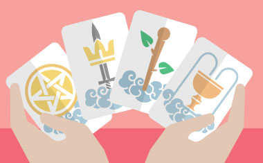 choose a tarot card