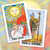 summer tarot cards the sun and page of wands