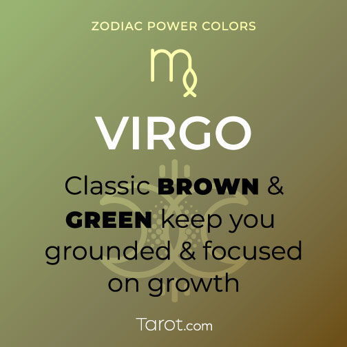 Virgo Green and Brown