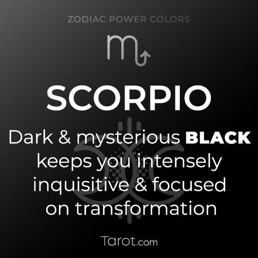 Scorpio Black