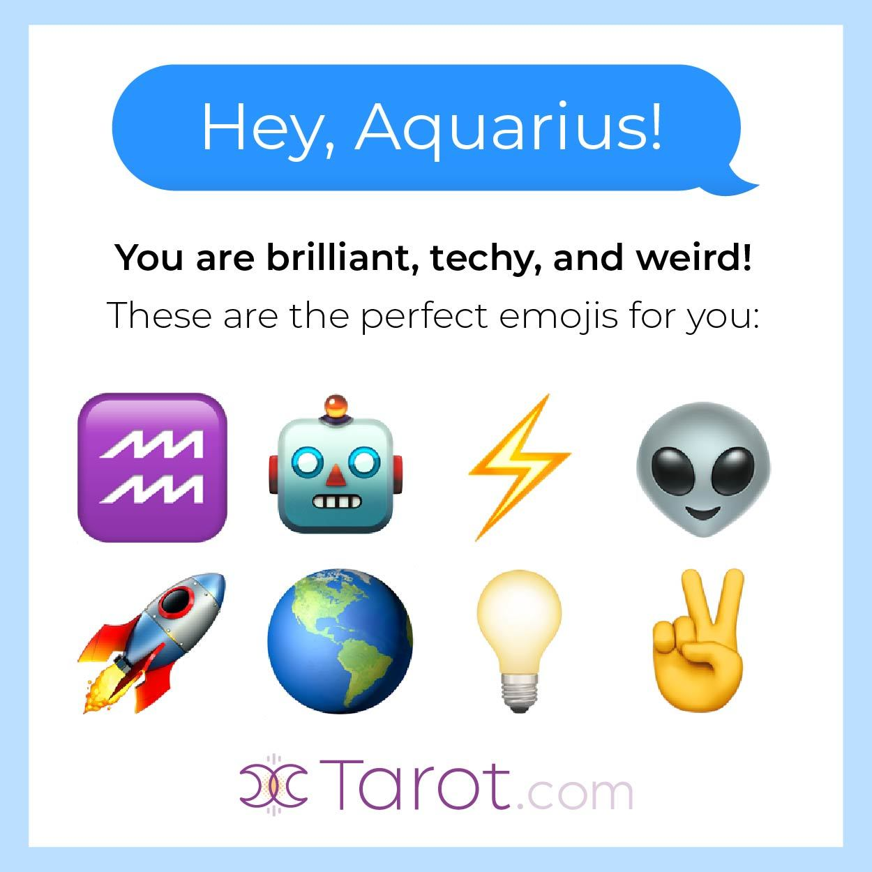 Aquarius Emojis