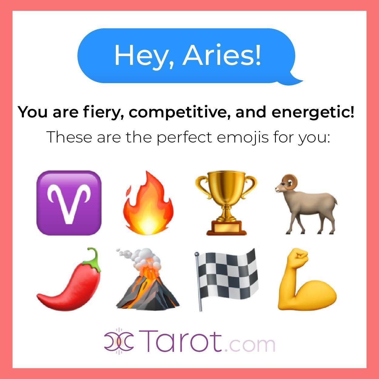 Aries Emojis