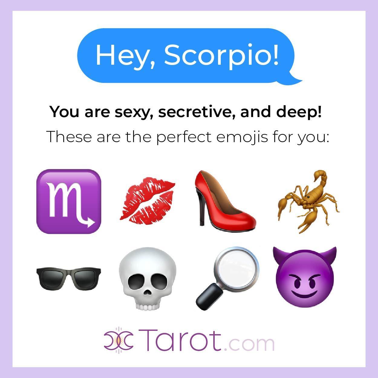 Scorpio Emojis