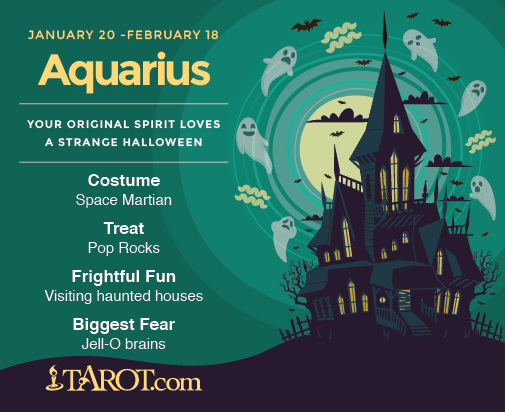 Aquarius Halloween