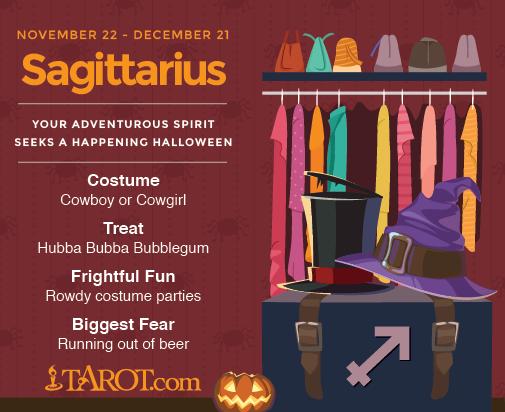 Sagittarius Halloween