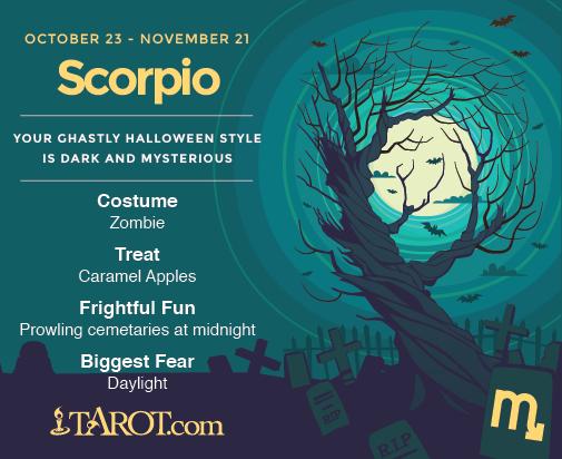 Scorpio Halloween