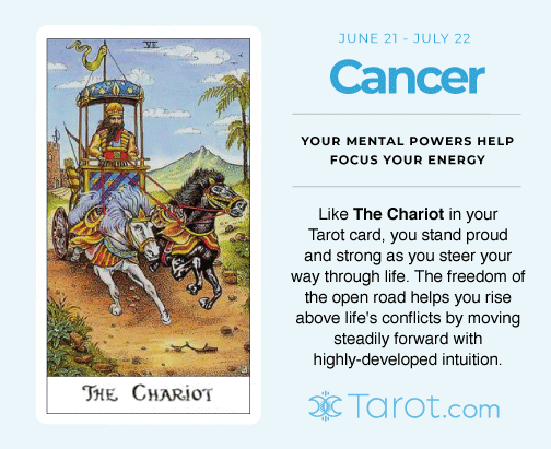 Cancer and The Chariot
