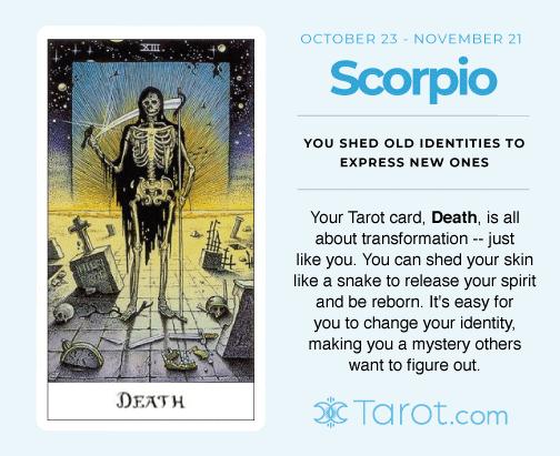 Scorpio and Death