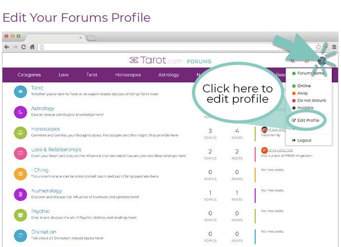 Updating Profile Desktop