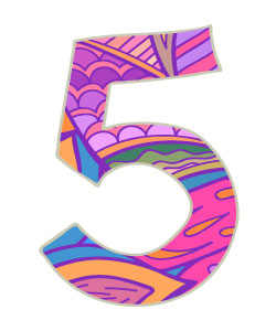 Numerology Numbers: Five