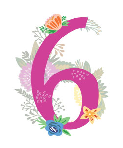 Numerology Numbers: Six