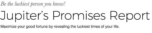 Jupiter's Promises