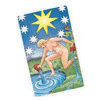 Star Tarot Card foraquarius