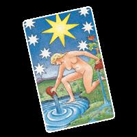 Star Tarot Card for Aquarius