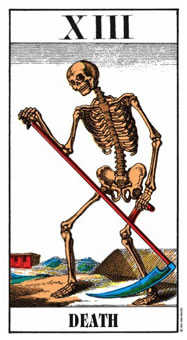 Death Tarot Card - Swiss (1JJ) Tarot Deck