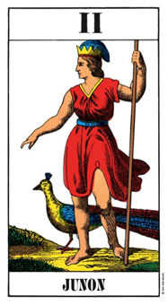 The High Priestess Tarot Card - Swiss (1JJ) Tarot Deck