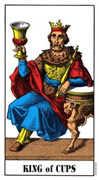 King of Cups Tarot card in Swiss (1JJ) deck