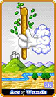 8-bit - Ace of Wands