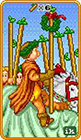 8-bit - Six of Wands