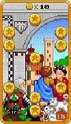 Ten of Coins Tarot card in 8-Bit Tarot Tarot deck