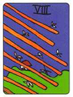 african - Eight of Wands