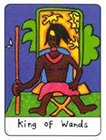 african - King of Wands