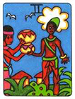 african - Two of Cups