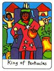 african - King of Pentacles