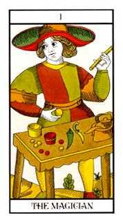 The Magician Tarot Card - Angel Tarot Deck