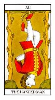 The Hanged Man Tarot Card - Angel Tarot Deck