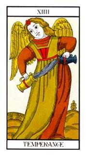 Temperance Tarot Card - Angel Tarot Deck