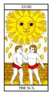 The Sun Tarot Card - Angel Tarot Deck