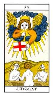 The Judgment Tarot Card - Angel Tarot Deck