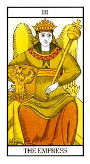 The Empress Tarot Card - Angel Tarot Deck