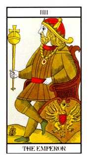 The Emperor Tarot Card - Angel Tarot Deck