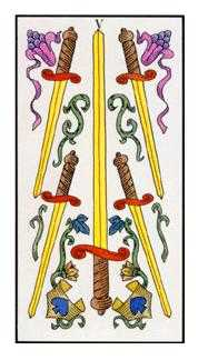Five of Swords Tarot Card - Angel Tarot Deck