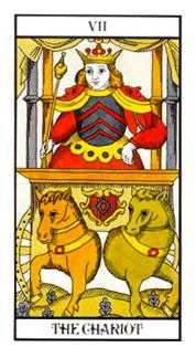 The Chariot Tarot Card - Angel Tarot Deck