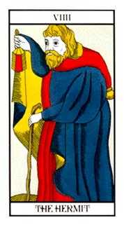 The Hermit Tarot Card - Angel Tarot Deck