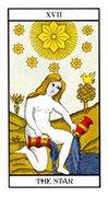 The Star Tarot card in Angel Tarot deck