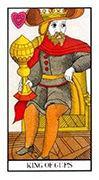King of Cups Tarot card in Angel Tarot deck