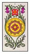 Ace of Pentacles Tarot card in Angel Tarot deck