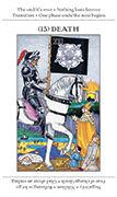 Death Tarot card in Apprentice deck