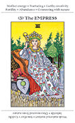 The Empress Tarot card in Apprentice deck