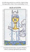 Ace of Cups Tarot card in Apprentice deck
