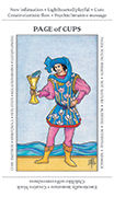 Page of Cups Tarot card in Apprentice deck