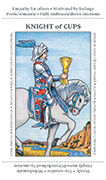 Knight of Cups Tarot card in Apprentice deck