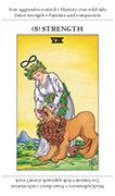 Strength Tarot card in Apprentice deck