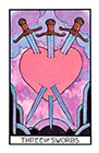 aquarian - Three of Swords
