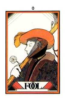 The Foolish Man Tarot Card - Aquarian Tarot Deck